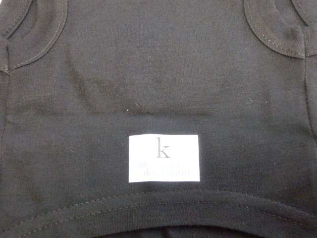 Kade Kimber ホワイト・マシュタッシュTシャツ ブラック